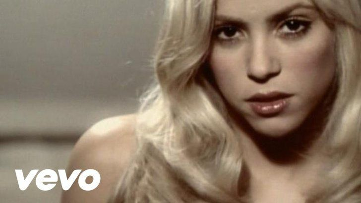 "Pin for Later: 15 Shakira Music Videos That Are Too Hot to Handle ""Illegal"" featuring Santana"