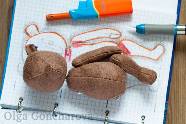 Creations by Olga Goncharova: Мастер-класс: Выкройка мишки тедди с нуля / How to...