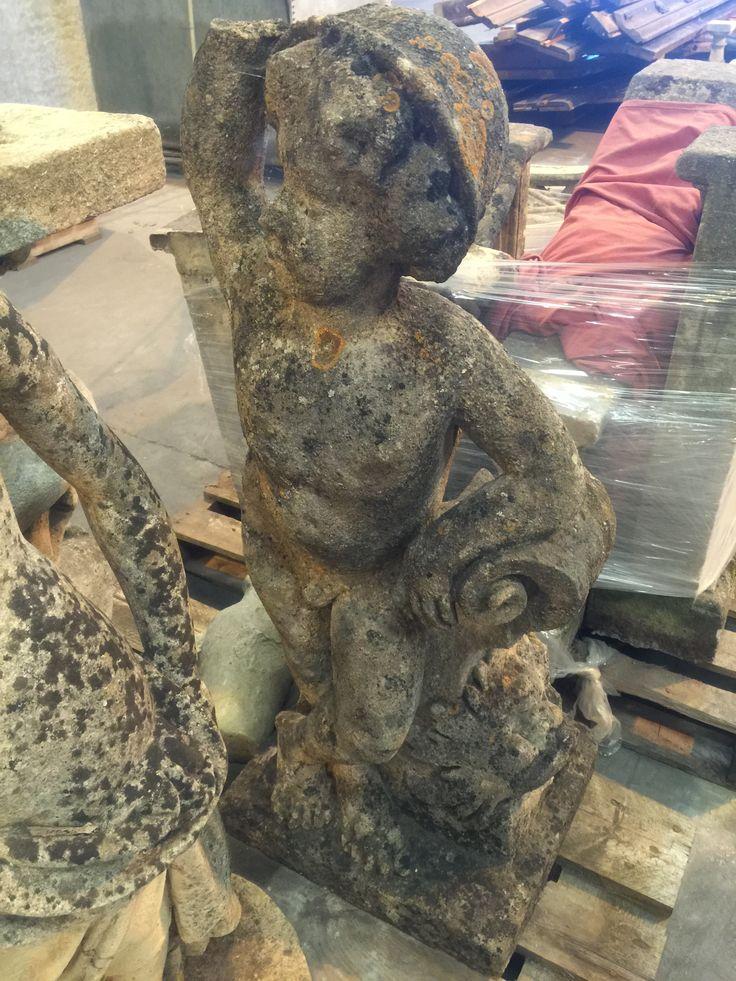 18th century statue of mercury