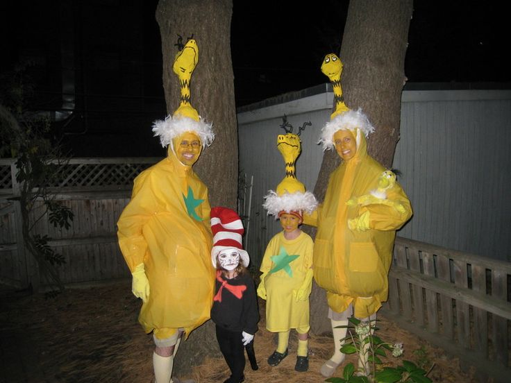 Sneeches Homeade Costumes | Dr Seuss Characters Costumes ...