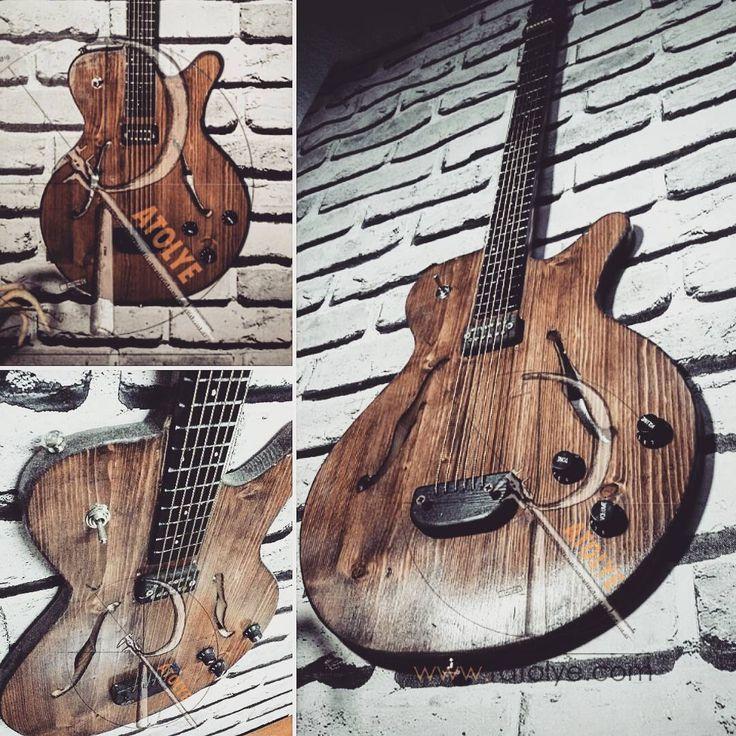 #ratolye #tictactasarim @ratolyecom #woodworking #woodwork #wall #decorative #retrodesign #ahsap #ahsaptasarim #ahsapdekor #retro #ahsapatolyesi #ahsaptasarim #agacurunleri #wooden #workshop #interior #interiordesign #guitar #electroguitar #woodenguitar #washburn #fender #gitar #jazzgitar