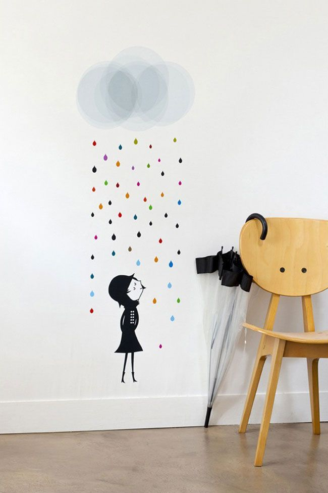 Louisiana Map Decor%0A Discover this Wall sticker Mademoiselle sous la Pluie Blanca Gomez with  Lili u    s   Online Shop for Decorative Objects  Lighting  Home Decor   Stationery