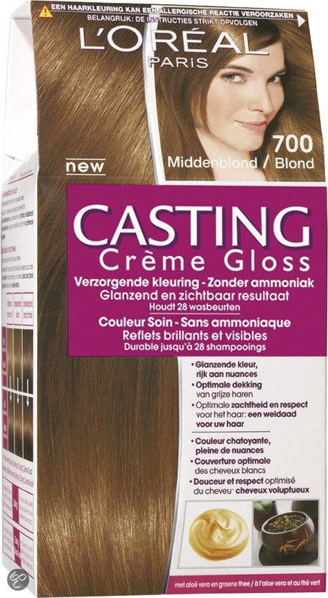 L'Oréal Paris Casting Crème Gloss - Middenblond - Crèmekleuring..