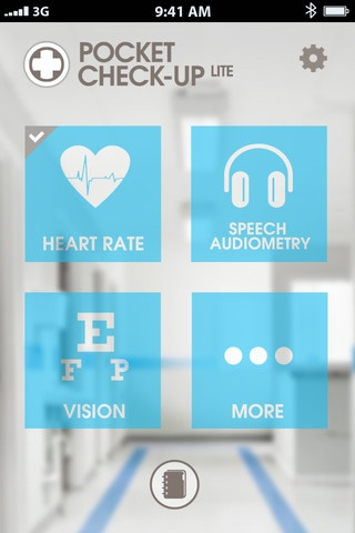 Check up app / Heart rate - Speech audiometry - Vision Color test - astigmatism - Memory - Personnality etc #iPhone #iOs #MedicalMedical App