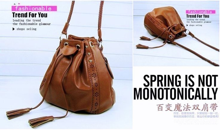 PCA1614 Colour Brown Material PU Size L 25 W 14 H 26 Price Rp 130,000
