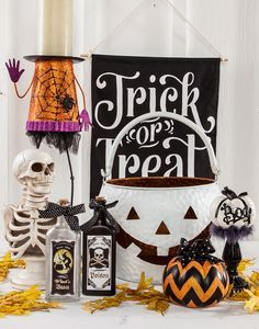 Don't be scared...Halloween Decor is in stock at Gordmans! #Halloween #SpookyDecor #Skeletons #TrickorTreat