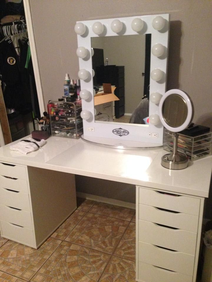 17 Best Images About Vanity On Pinterest Makeup Storage