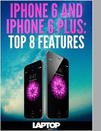 """""""iPhone 6 and iPhone 6 Plus: Top 8 Features"""" The iPhone will get a display that's large enough to compete against the big boys. Apple has finally stepped up to big-screen smartphones with the iPhone 6 and iPhone 6 Plus. Both devices sport sharp new Retina HD displays, a much more advanced iSight camera and a fast new A8 processor. On sale Sept. 19, the 4.7-inch iPhone 6 will start at $199 for 16GB and the 5.5-inch iPhone 6 Plus will start at $299 for 16GB."""