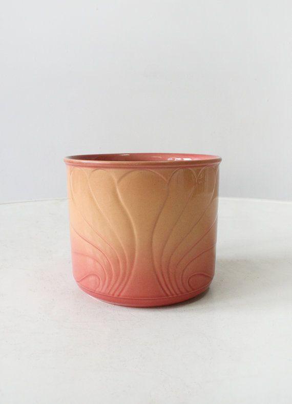 Vintage Scheurich Keramik Pastel Pink Gradient by WestEstShop