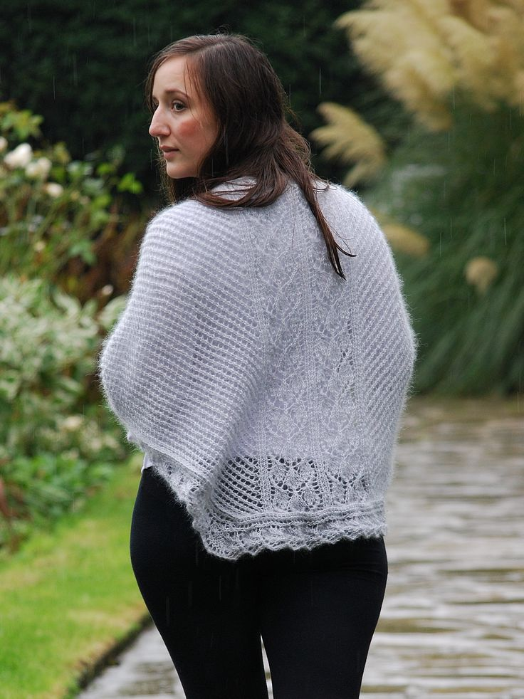 Isblomst - Faroese-inspired lacy shawl