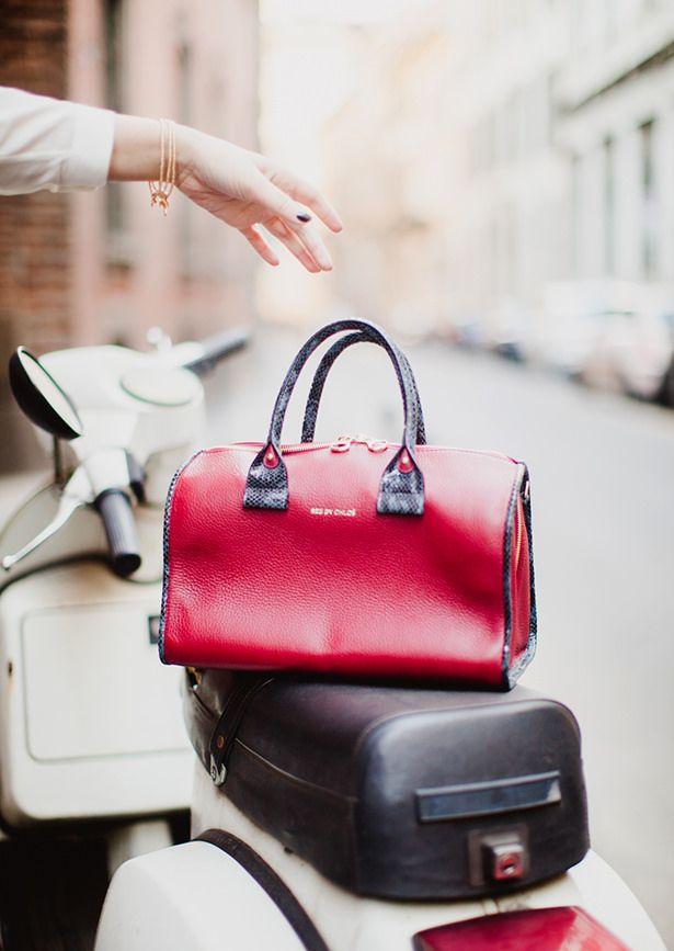 fake chloe bags uk - Great bag in my fav colour ~ #EpicureanPiranha #handbags #RubyRed ...