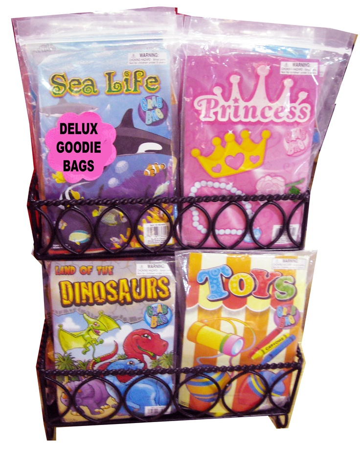 We have DELUXE Goodie Bags. Add to your party, no worries about making them yourself.