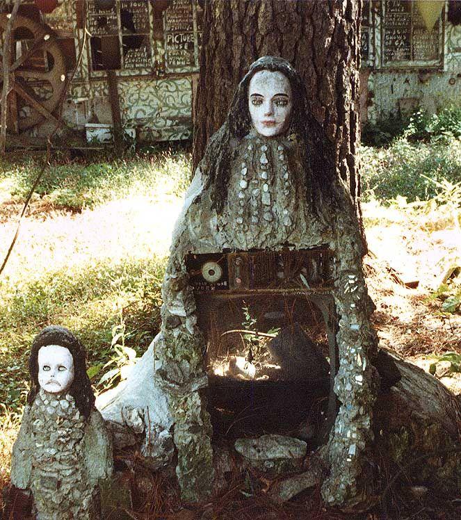 Howard Finster 39 S Paradise Garden Statue Folk Outsider Art Environments Pinterest