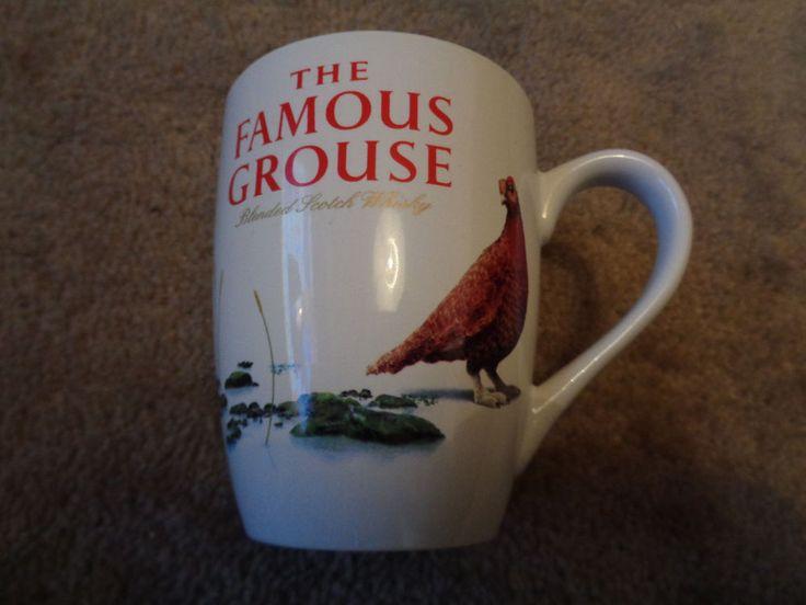 Famous Grouse Whisky ceramic Tea coffee Mug Promotional breweriana Whiskey