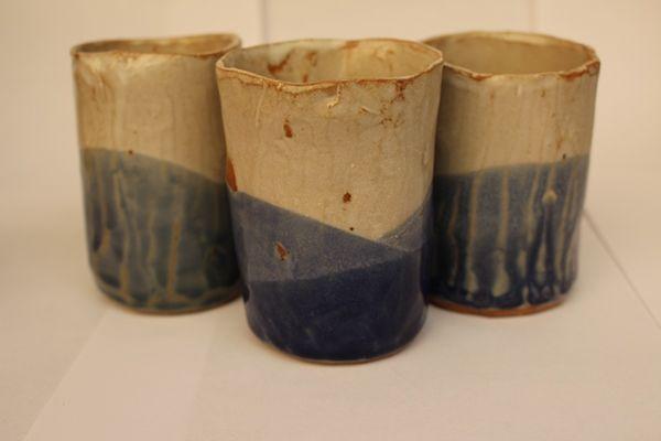 vasos tonos Azules♥