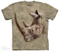 The Mountain Kids Rhinoceros T-shirt | White Rhino
