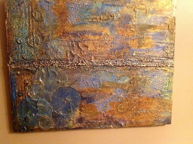 My happy art Artist Shelley Keeble  Mixed media