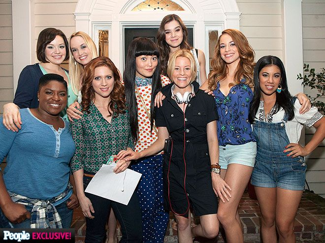 """O-M-Aca-G! Go Behind the Scenes on the Set of Pitch Perfect 2 
