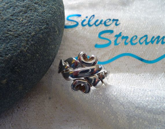 Puzzle Ring 4-Band, Sterling Silver Puzzle,Turkish Wedding Band, Puzzle Jewelry,Different Puzzle Ring, Vintage Jewelry etsy SilverStream925