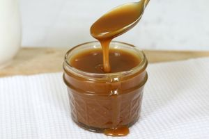 Learn how to make the perfect salted caramel sauce without the need for a sugar thermometer!
