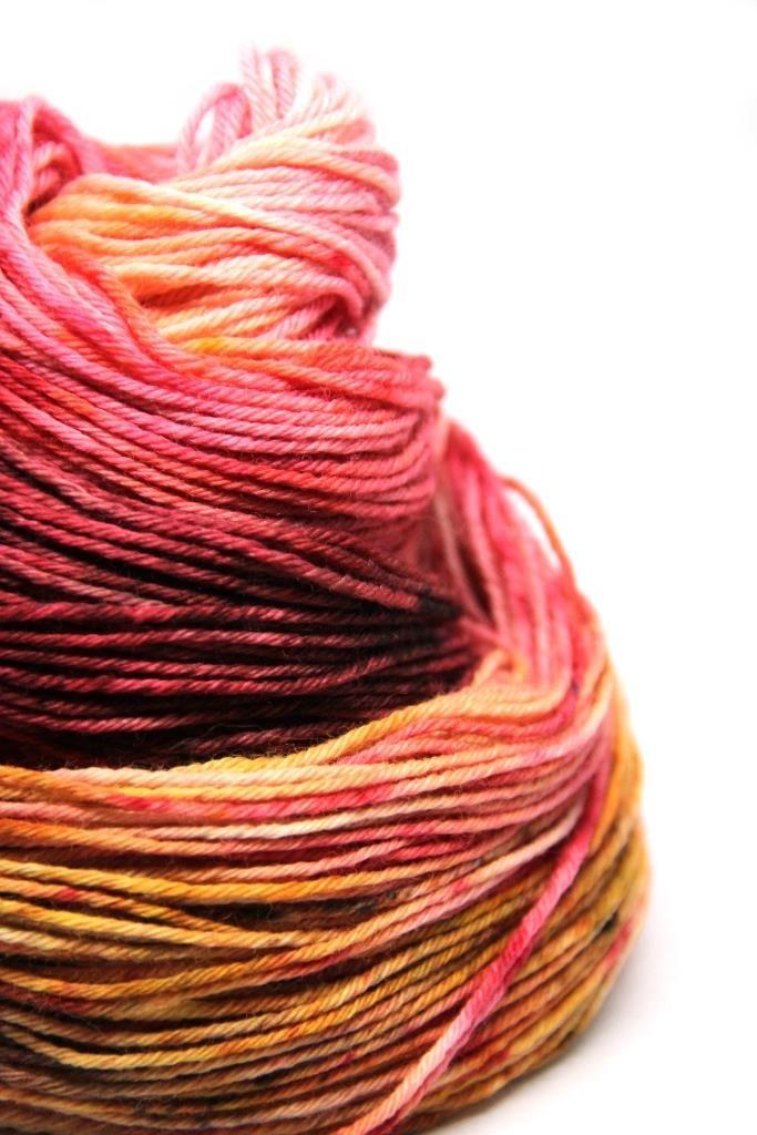 vlna merino BIO PAVINIČ NA JESEŇ - Hand Dyed Yarn - Fingering - ručne farbená vlna napletenie :: eshop.vlna-art.sk