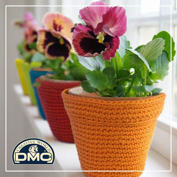 Decorate your pots in an easy and creative way!