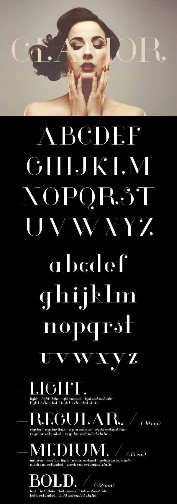 I dont really like this typeface but it fits the profile of Modern Serif well so i thought id post it