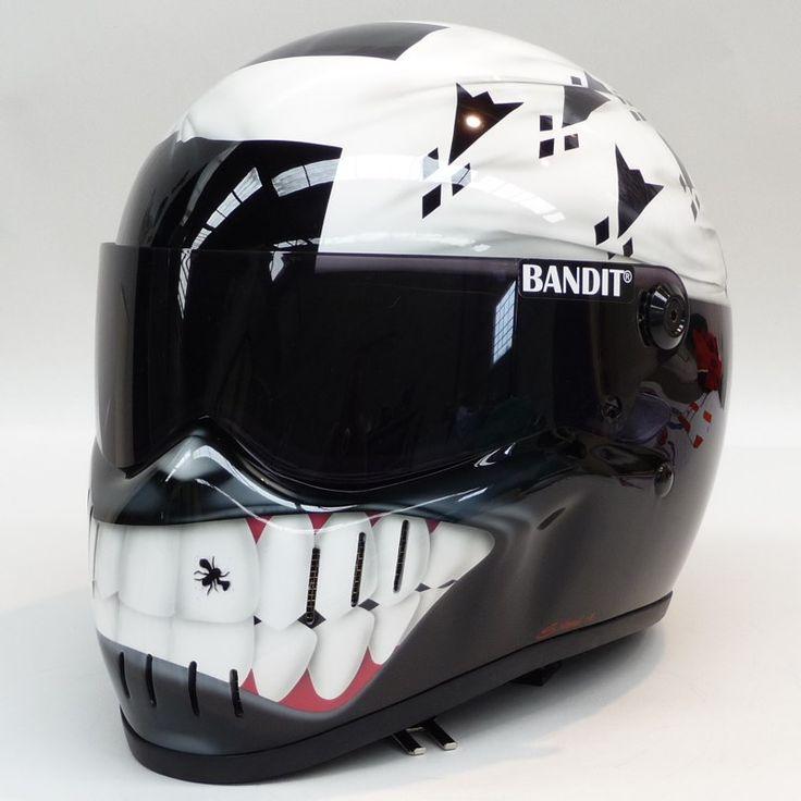 188 best helmets images on pinterest custom motorcycles motorcycle helmets and armors. Black Bedroom Furniture Sets. Home Design Ideas