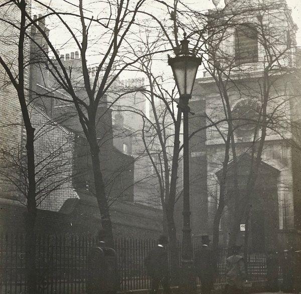 Church of All Hallows, London Wall, c. 1890 parish church where The Rev. Samuel J. Stone was Rector