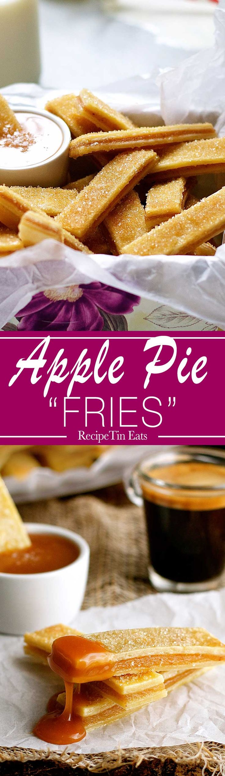 "Apple Pie ""Fries"" 