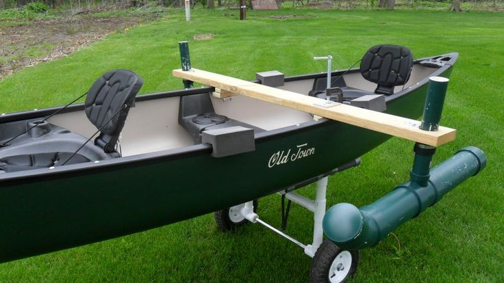 How to Make Canoe Stabilizers | Canoe stabilizer Ideas - Ohio Game Fishing Community