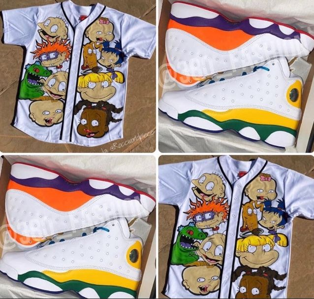 air jordan 13 gs playground shirt