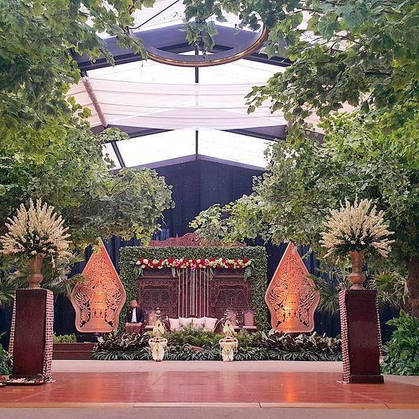Rangkaian dekorasi pernikahan Bayu & Zaneta  #bayuzaneta @zanetageorgina…