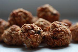 Ovesné hrudky s čokoládou a ořechy
