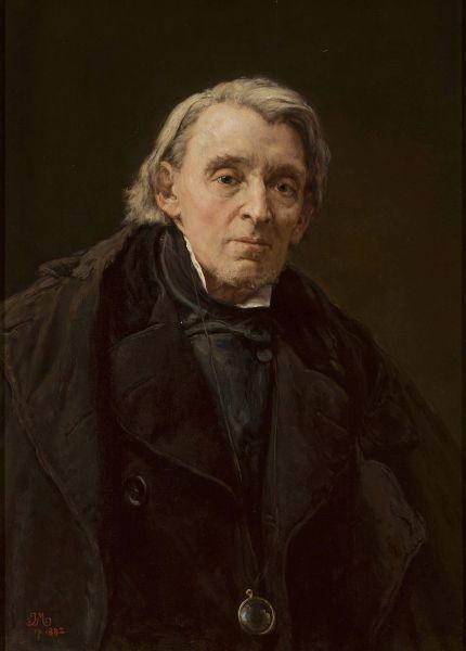 Portret Karola Podlewskiego - Jan Matejko