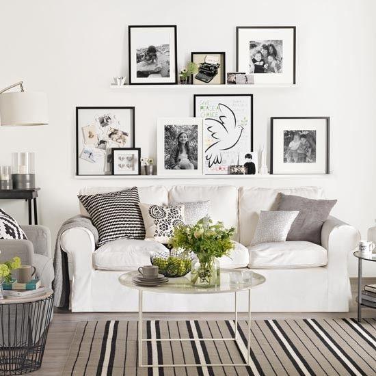 As 25 melhores ideias de Ektorp sofa no Pinterest - ikea wohnzimmer weis