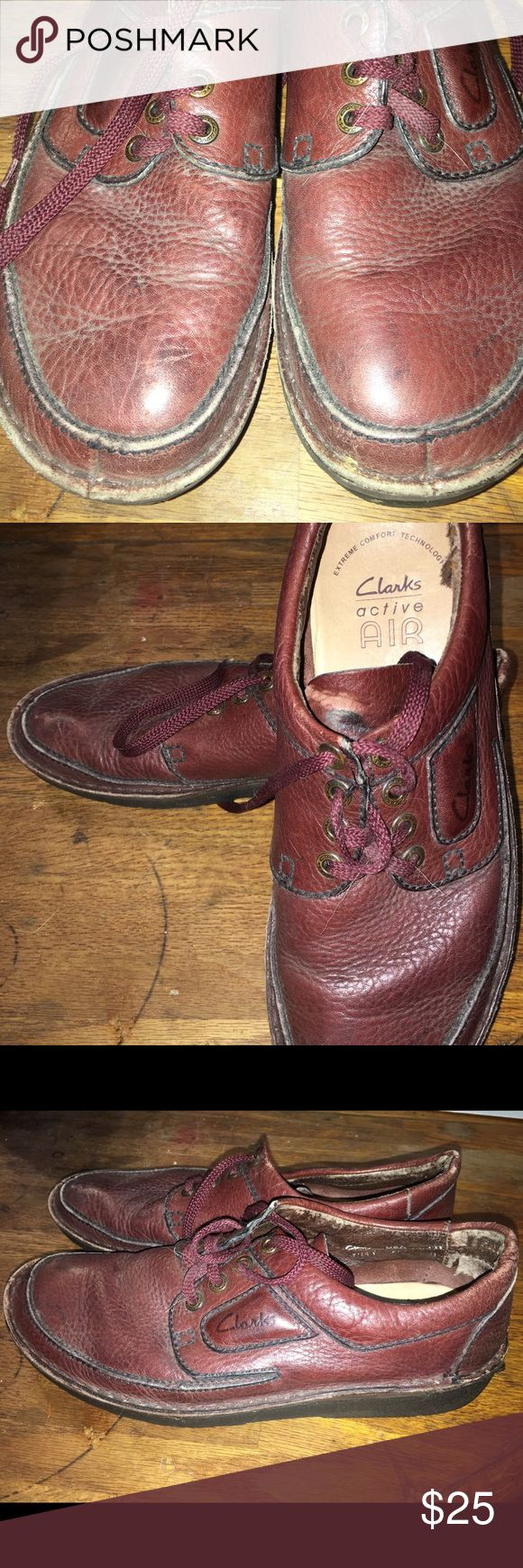 Men's clarks air Used clarks air used very comfortable shoes no noticeable damage on the outside only towards the back inside as you can see in the picture. Clarks Shoes Loafers & Slip-Ons
