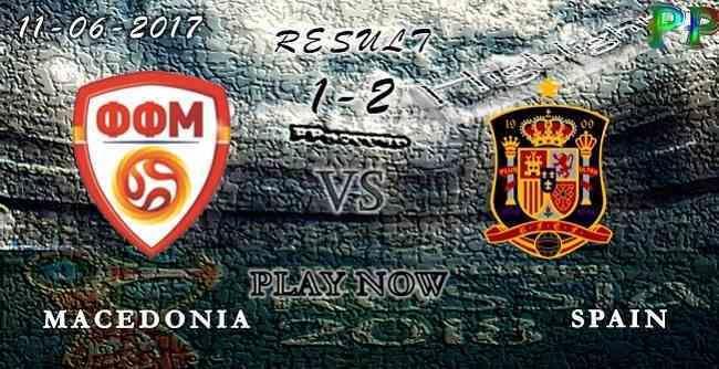 Macedonia 1 - 2 Spain HIGHLIGHTS 11.06.2017