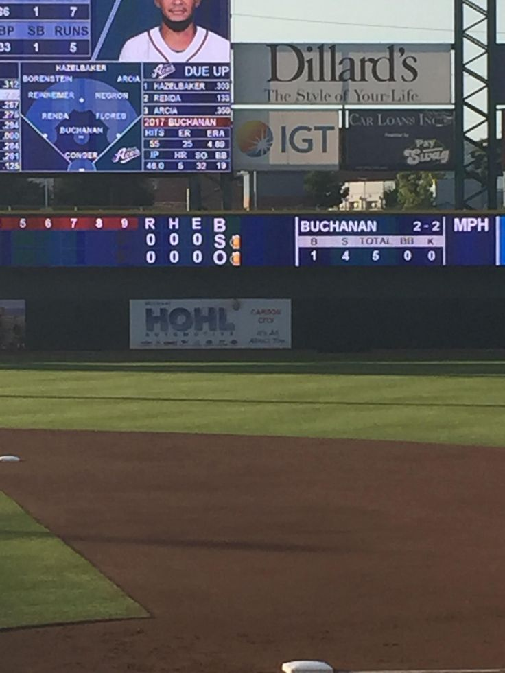 The ball strike and out counter at the Reno Aces stadium are beer mugs.