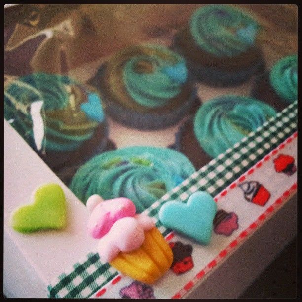 Cupcakes para amor ♥