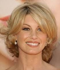 short hairstyles for thick wavy hair over 50 - Google Search