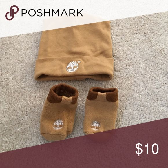Newborn Timberland hat & booties Newborn Timberland hat & booties Accessories