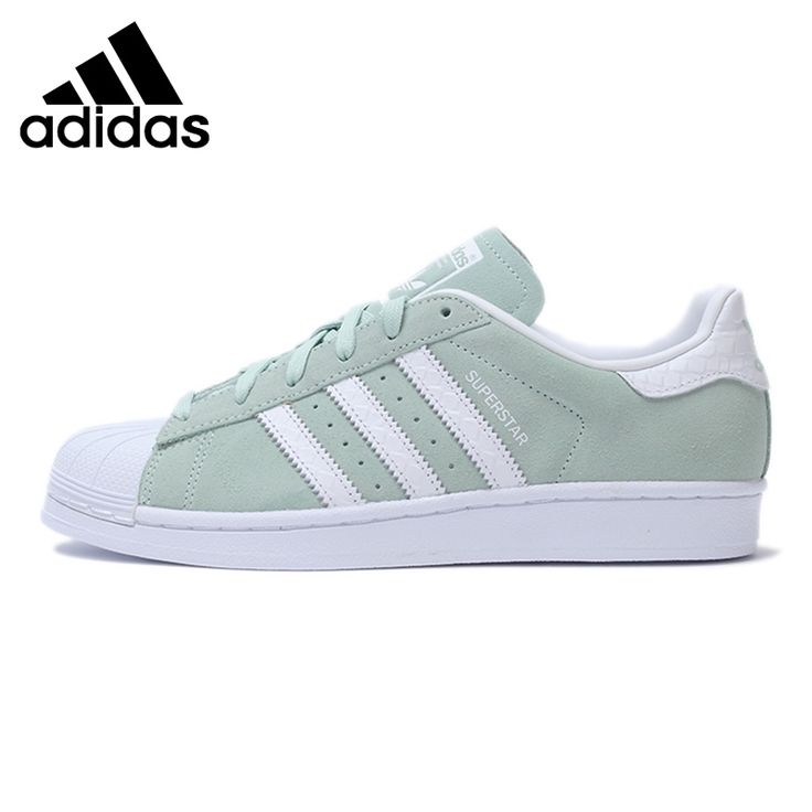 Original New Arrival  Adidas Originals Superstar W  Women's Classics Skateboarding Shoes Sneakers