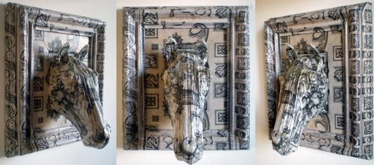 Decoupage work by Daniele Fortuna