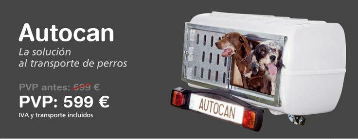 El cofre para perros que se engancha a la bola del coche. Es tan sencillo de instalar que una sola persona puede hacerlo en sólo dos pasos. Incluye suelo de goma para facilitar la limpieza y el confort del perro. #remolque #trailcenter http://trailcenter.es/remolques/remolques-para-perros/transporte-animales-autocan.html