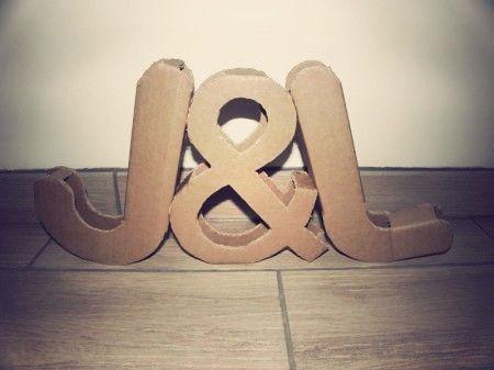 Tutoriel pour créer des initiales géantes