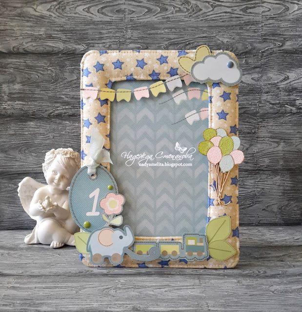 FLEUR design Blog: Текстильная рамочка. Вдохновение от Надежды Степановой.