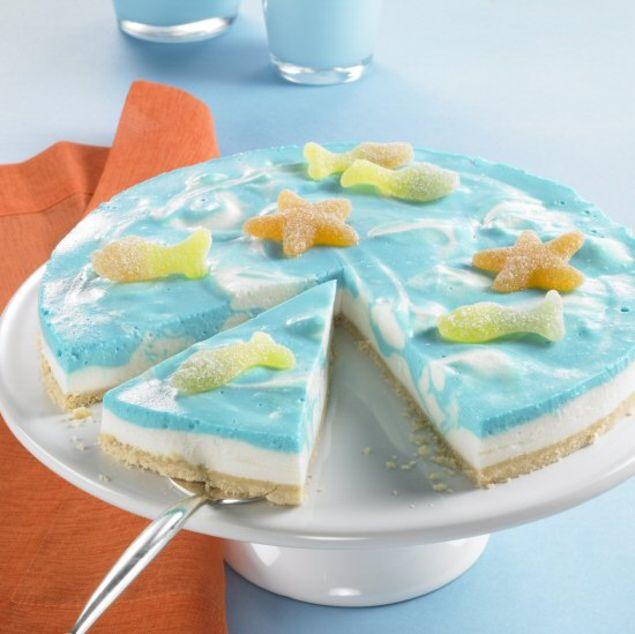 Ozean-Frischkäse-Torte