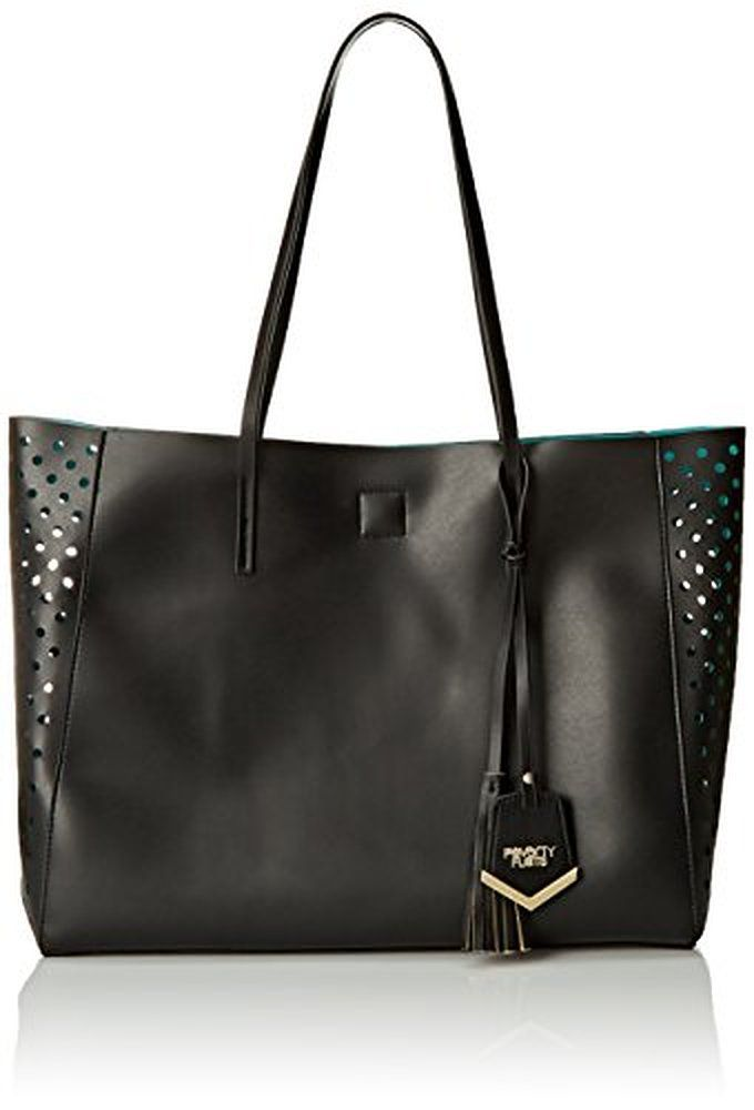 POVERTY FLATS by rian Perforated Shopper Tote