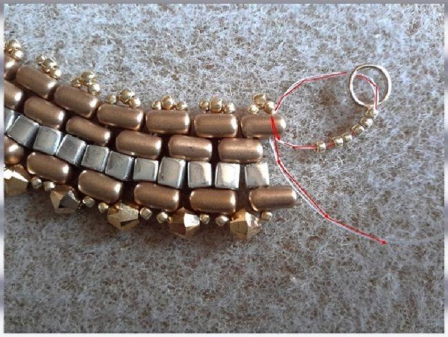 collar-oro-negro-perla de vidrio-rullas-tops-sedoso-bead-espíritu-17